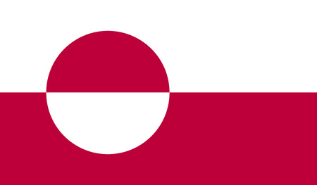 greenland: Greenland flag