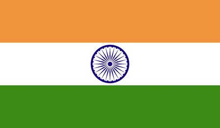 JPG background of india flag Stock Photo