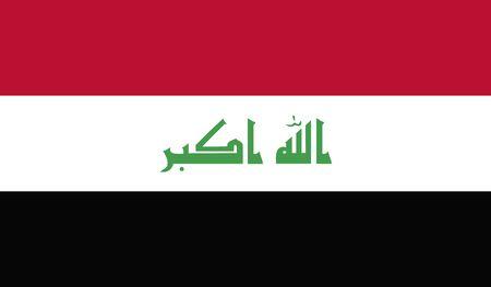 militant: Iraq Flag