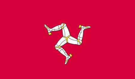 proportional: flag of Isle of Man.