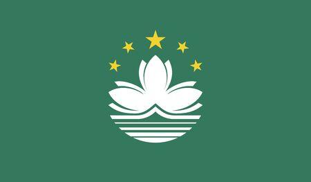 macau: Flag of Macau.