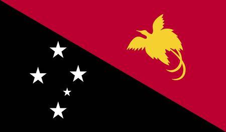guinea: Papua New Guinea Flag