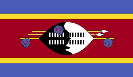 swaziland: Flag of Swaziland