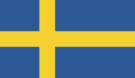 Zweden Vlag Stockfoto