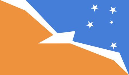 tierra del fuego: Tierra Del Fuego Province Argentina flag