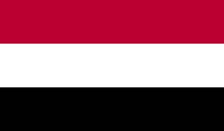 yemen: Yemen Flag Stock Photo