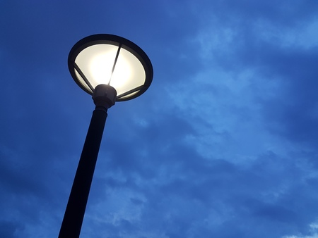 Night Streetlight Background