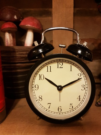 Vintage alarm clock Stock fotó
