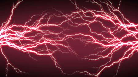 Efecto iluminación eléctrica, fondos abstractos de techno para su diseño. Foto de archivo - 90257144