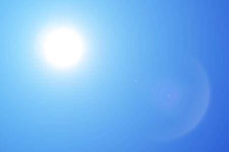 blue sky and sun Stock fotó - 90332440