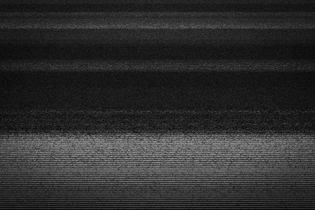 Static tv noise, bad tv signal, black and white, monochrome Stock fotó - 90918206