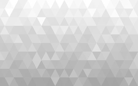 Fondo geométrico blanco abstracto Ilustración de vector
