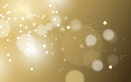 Beautiful golden light bokeh background
