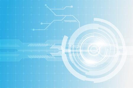 futuristic digital cyber technology concept background