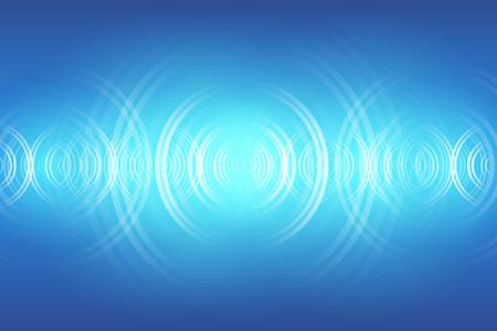 abstrakter digitaler Schallwellenhintergrund