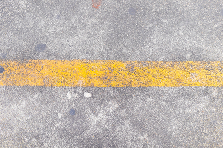 bumpy: Yellow line on the road texture in summer