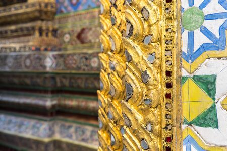 miror: Thai traditional pattern in temple