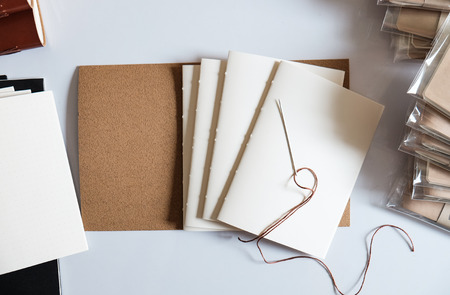 Process to made a leather book cover, diy
