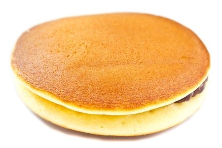 A Dorayaki is a japanese bread Stock Photo