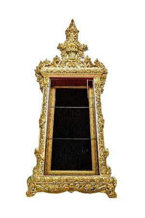 woodcraft: This is the window sculpture in Thai temple  This is ancient art traditional culture