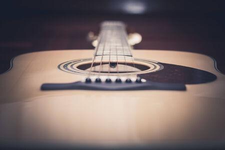 nylon string: Acoustic guitar