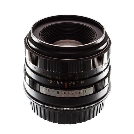 Old film camera manual focus lens