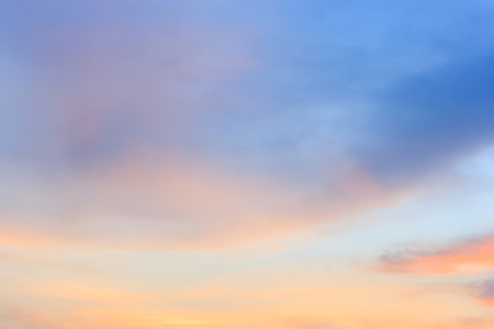 Twilight sky background Stock Photo