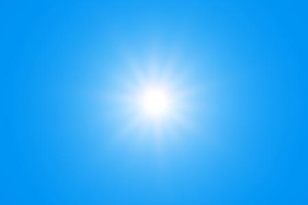 sonne: Sun mit Sun Ray