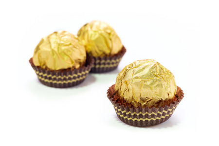ferrero: Chocolate balls are praline or may be snack when afternoon