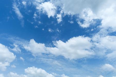 sky: Sky, The blue sky with cloud at dusk