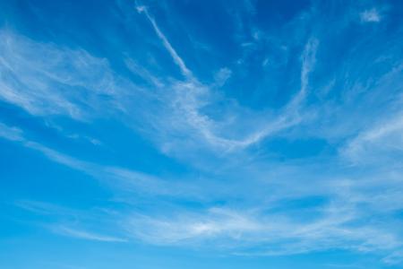 Hemel, de blauwe hemel met cloud
