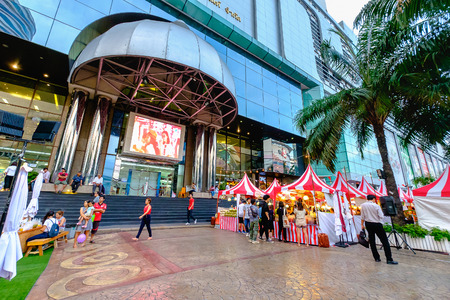 Bangkok, Thailand - June 25, 2016: FORTUNE TOWN - IT Lifestyle Mall is a popular shopping mall in Bangkok, Thailand
