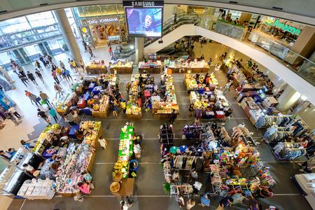 Bangkok, Thailand - June 17, 2016: Esplanade Ratchadapisek Floor 1, the Entertainment Center with a variety of entertainment experiences Editorial