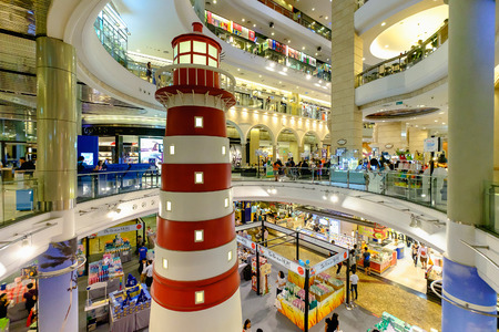 Bangkok, Thailand - August 12, 2016: Terminal 21, One of the big shopping mall. Editorial