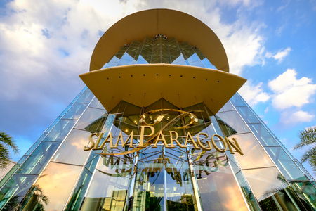 Bangkok - January 27, 2017: The Siam Paragon in Bangkok, Thailand. Siam Paragon is the biggest shopping center in Thailand.