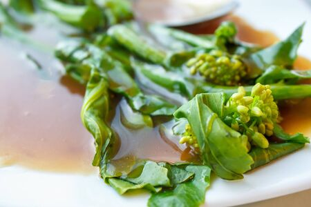 Hong Kong Kale with Oyster sauce