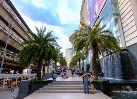 Bangkok, Thailand - January 27, 2017: Siam paragon shopping center in central Bangkok. Editorial