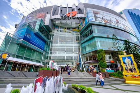 Bangkok, Thailand - June 9, 2017: Esplanade shopping mall in Bangkok. Bangkok is the capital and most populous city of Thailand.