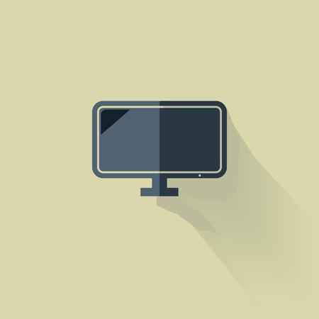 Smart TV icon Illustration