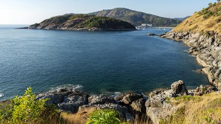 Seashore with tropical sea in Beautiful island.
