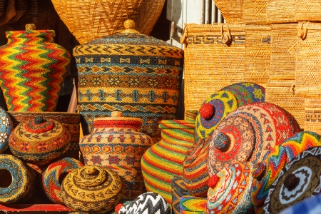 handicrafts: Bali basket case