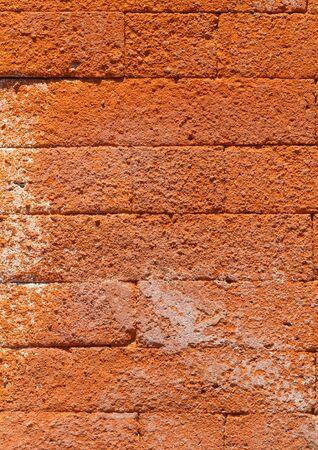 Bali brick wall