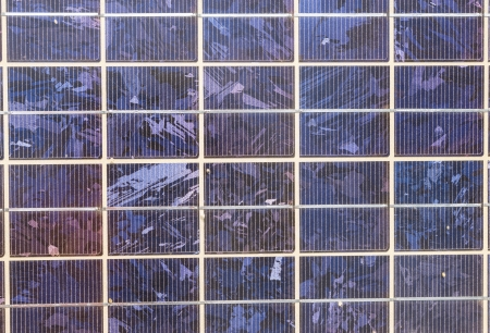 Old solar cells texture photo