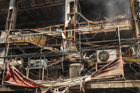 Condo and Restaurant Fire Damage Editorial