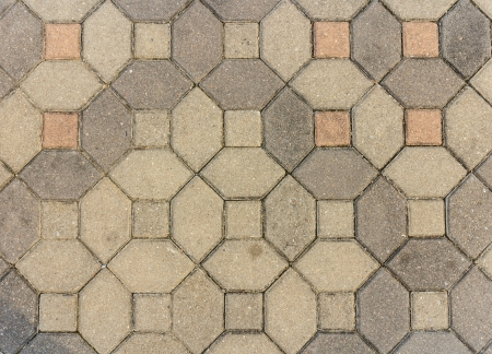 concrete block pavement