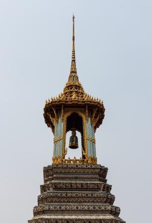 belfry: golden belfry in Thai style