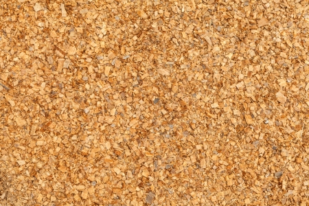 Natural sawdust textured