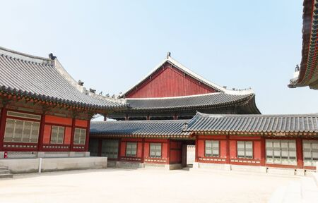 Ancient house of Korean Palace Stock Photo - 20551869