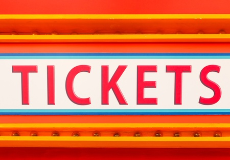 Tickets sign Stock Photo - 20549127