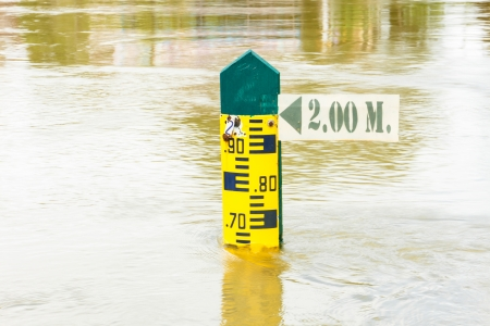 Water level indicator Stock Photo - 21611458